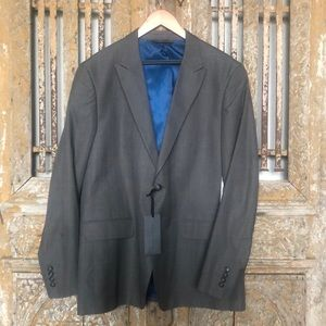 SEAN JOHN GREY BLUE BLAZER JACKET XL NEW